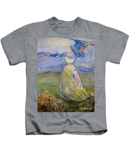 The River Is Here Kids T-Shirt