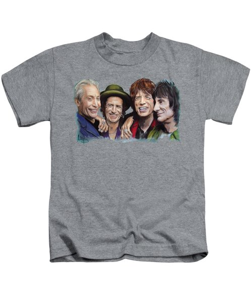 The Rolling Tongues Kids T-Shirt