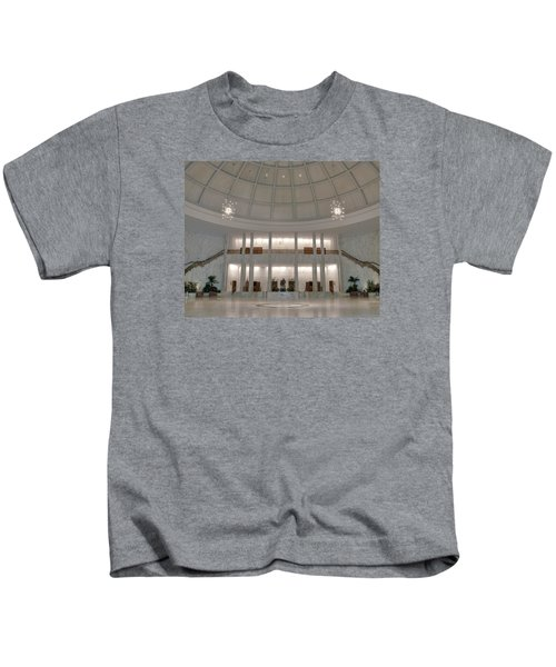 The Rotunda 8 X 10 Crop Kids T-Shirt