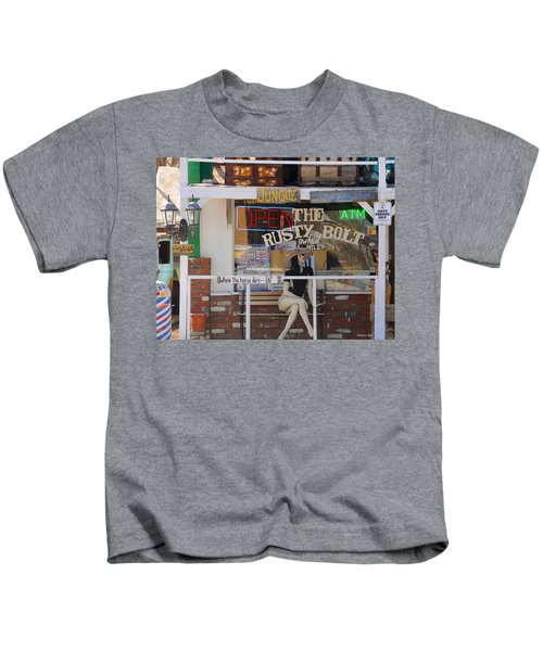 The Rusty Bolt - Seligman, Historic Route 66 Kids T-Shirt