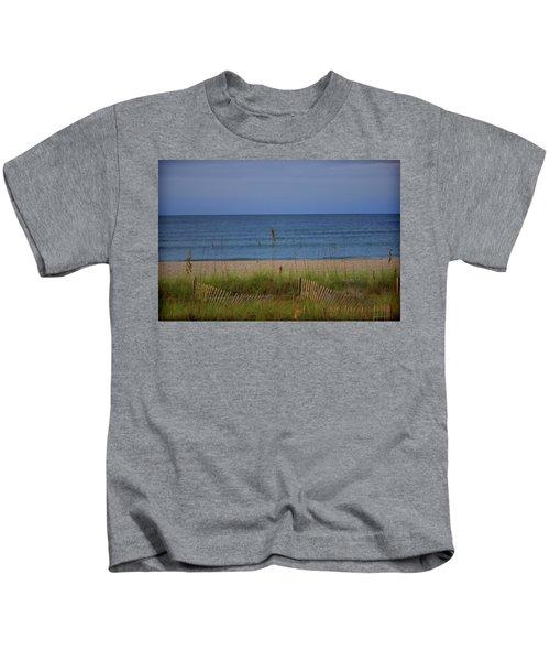 The Sea Shore Line Kids T-Shirt