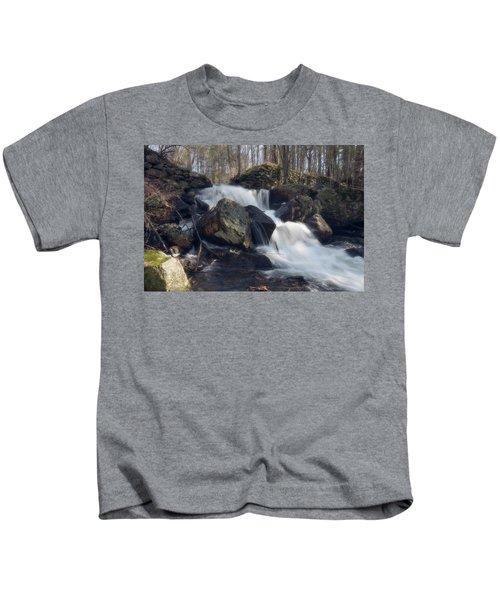 The Secret Waterfall 1 Kids T-Shirt