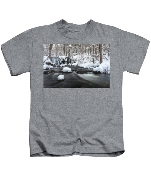 The Secret Waterfall In Winter 2 Kids T-Shirt