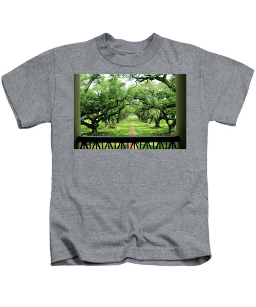 The Shade Of The Oak Tree Kids T-Shirt