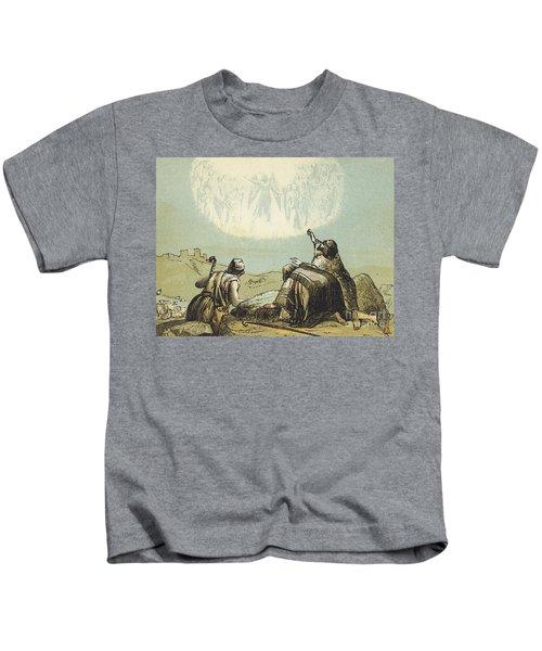 The Shepherds In The Field Kids T-Shirt
