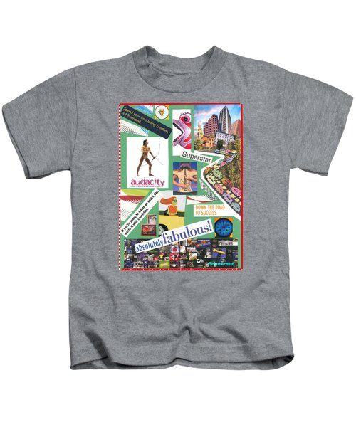 The Silly Side Of Life Kids T-Shirt