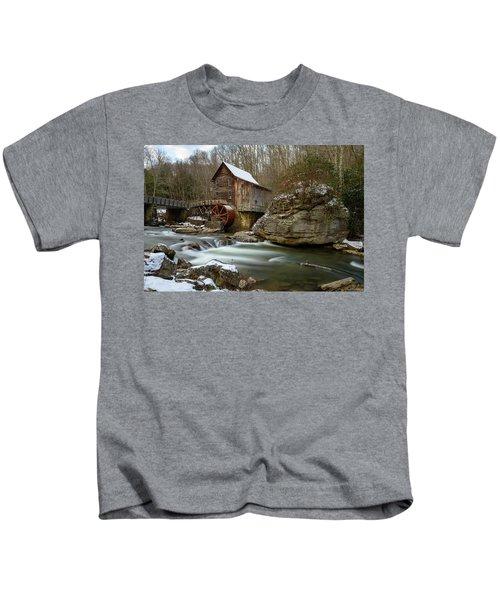 The Splendor Of West Virginia Kids T-Shirt