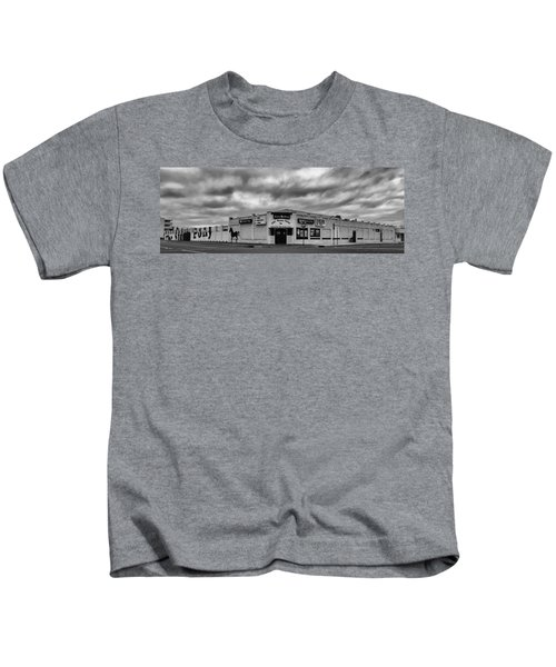 The Stone Pony Asbury Park New Jersey Black And White Kids T-Shirt