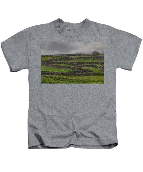 The Stone Walls Of Innisheer Kids T-Shirt