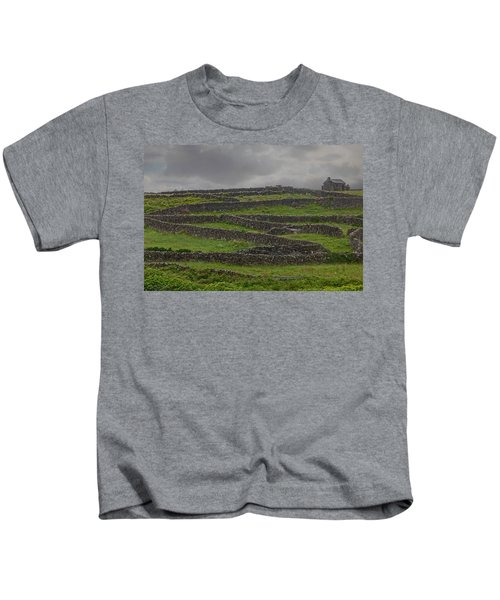 The Stone Walls Of Innisheer Kids T-Shirt