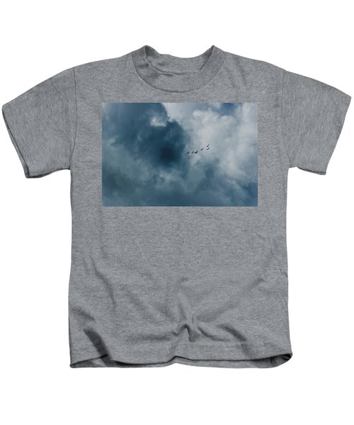 The Storm And Aircrafts Kids T-Shirt