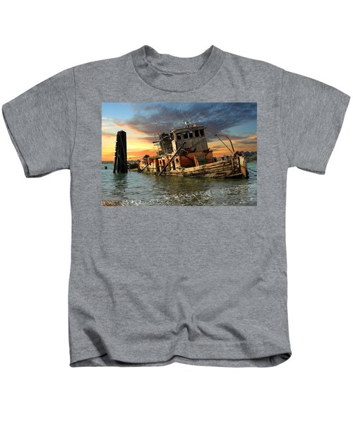 The Sunset Years Of The Mary D. Hume Kids T-Shirt