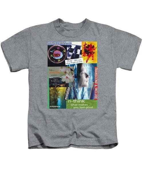 The Tao Of Life Kids T-Shirt