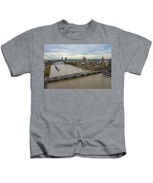 The Thames At Sunset Kids T-Shirt