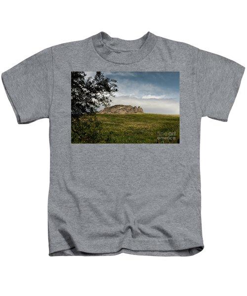 Italy, Calabria, Cimina,the Three Fingers Kids T-Shirt