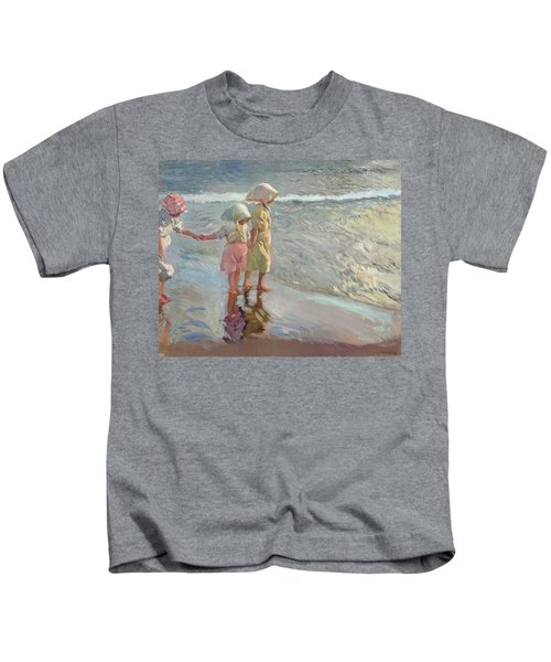 The Three Sisters On The Beach Kids T-Shirt