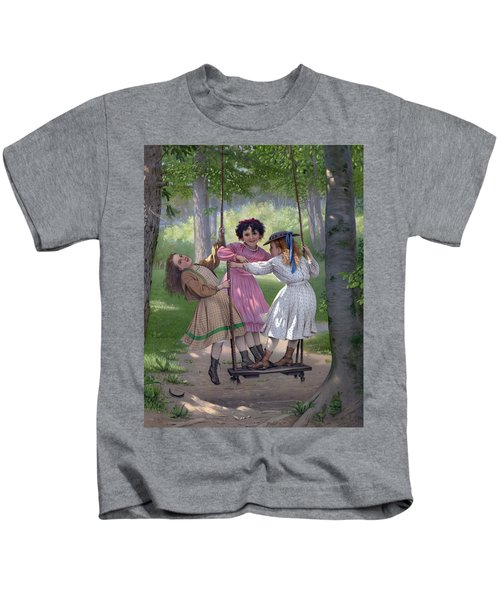 The Three Tom Boys Kids T-Shirt