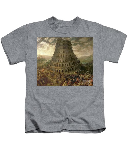 The Tower Of Babel Kids T-Shirt