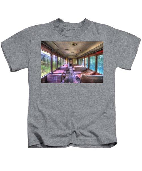 The Tram Leaves The Station... Inside Kids T-Shirt