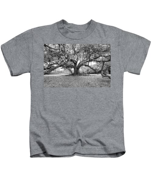 The Tree Of Life Monochrome Kids T-Shirt