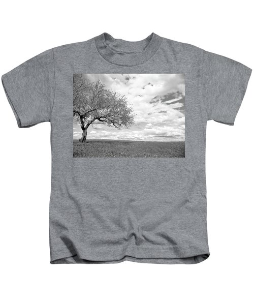 The Tree On The Hill Kids T-Shirt