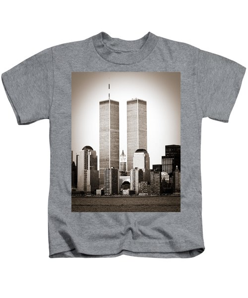 The Twin Towers Kids T-Shirt