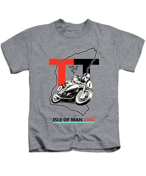 The Vintage Isle Of Man Tt Kids T-Shirt