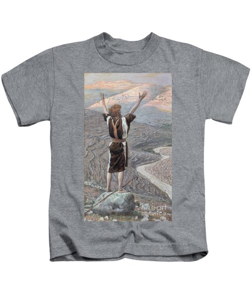 The Voice In The Desert Kids T-Shirt
