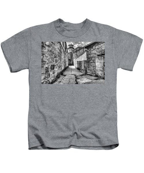 The Watch Tower Eastern State Penitentiary Kids T-Shirt