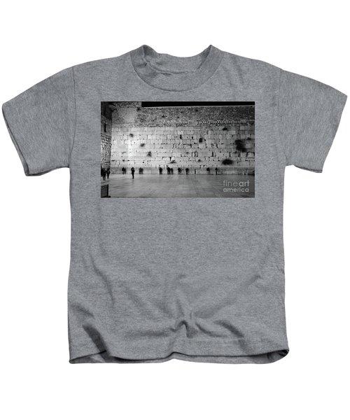 The Western Wall, Jerusalem 2 Kids T-Shirt