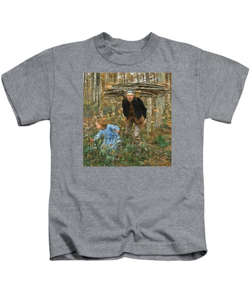 The Wood Gatherer Kids T-Shirt