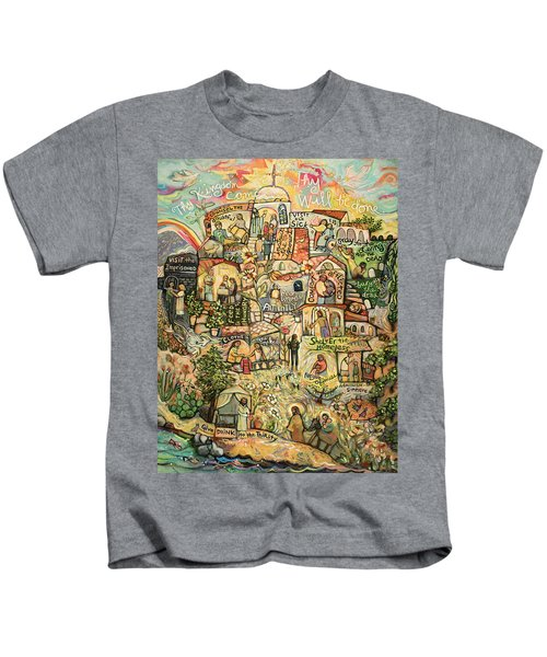 The Works Of Mercy Kids T-Shirt