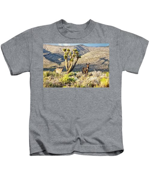 The Zebra Burro Kids T-Shirt