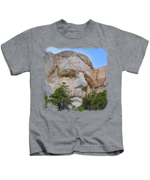 Theodore Roosevelt 3 Kids T-Shirt by John M Bailey