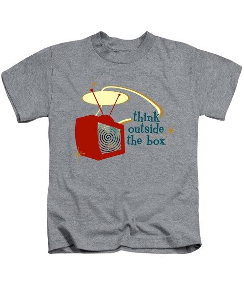 Think Outside The Box Kids T-Shirt