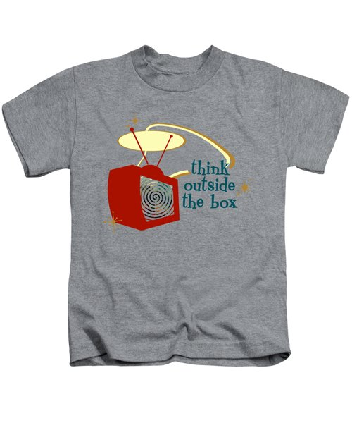 Think Outside The Box Kids T-Shirt