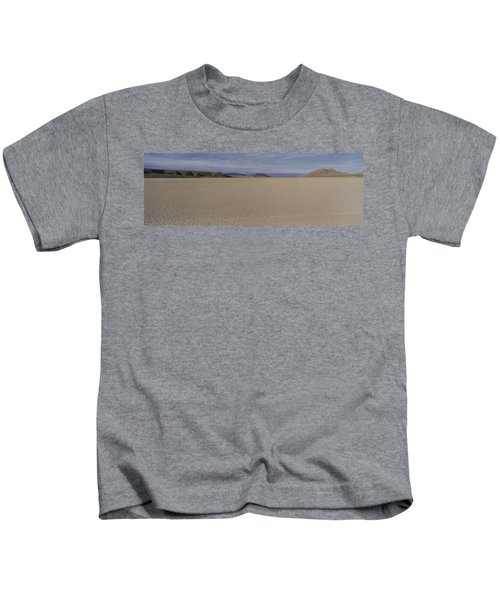 This Is A Dry Lake Pattern Kids T-Shirt by Panoramic Images