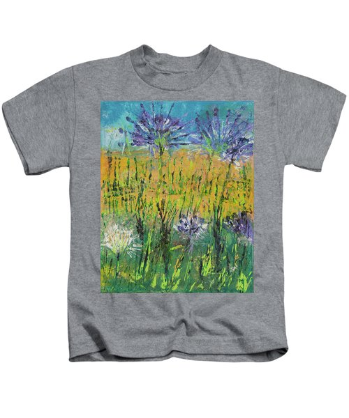 Thistles Too Kids T-Shirt