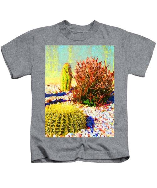 Three Cacti Kids T-Shirt
