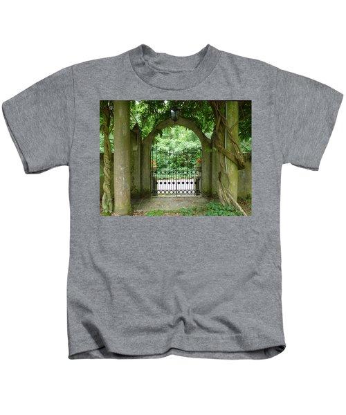 Through The Tuscan Gate Kids T-Shirt