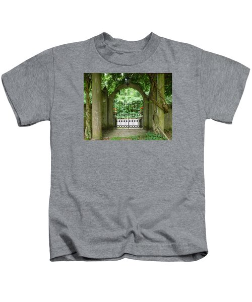 Through The Tuscan Gate Kids T-Shirt