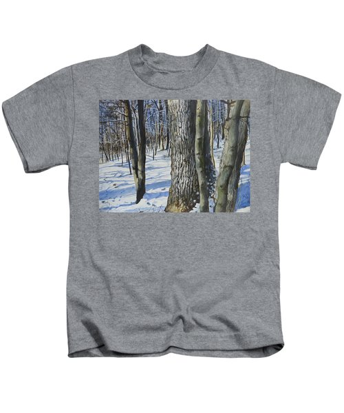 Through The Woods Kids T-Shirt