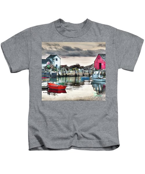 Tide's Out Kids T-Shirt