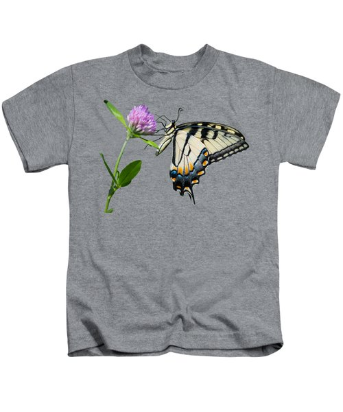Tiger Swallowtail Butterfly  Kids T-Shirt