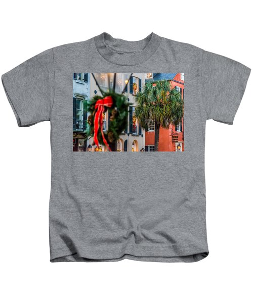 Tis The Season - Charleston Sc Kids T-Shirt