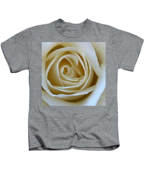 To The Heart Of The Rose Kids T-Shirt