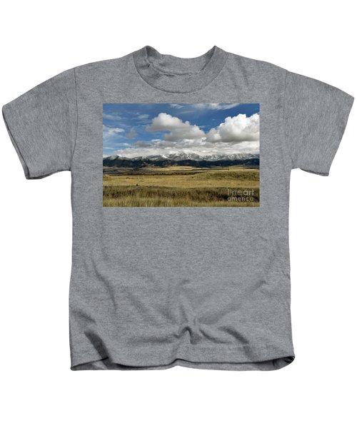 Tobacco Root Mountains Kids T-Shirt