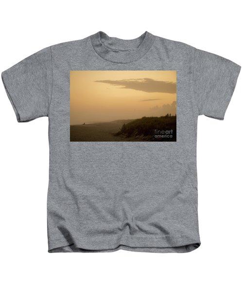 Tobay Beach Long Island Kids T-Shirt