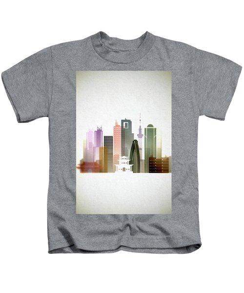 Tokyo  Cityscape Kids T-Shirt