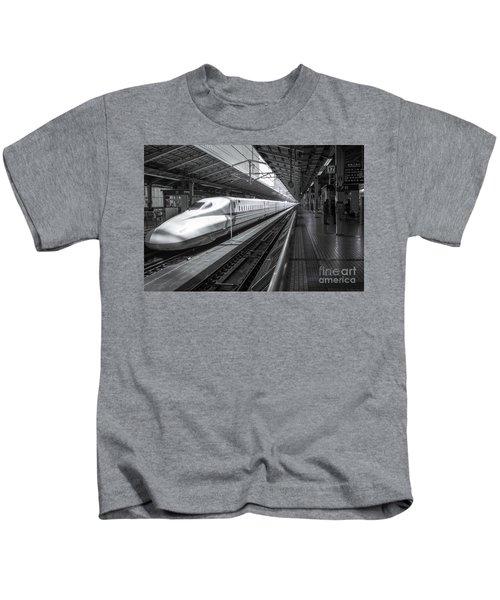 Tokyo To Kyoto, Bullet Train, Japan Kids T-Shirt